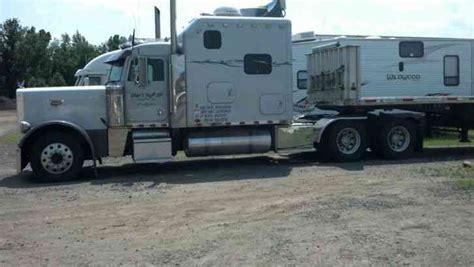 Extended Sleeper Trucks by Peterbilt 379 Extended 1995 Sleeper Semi Trucks