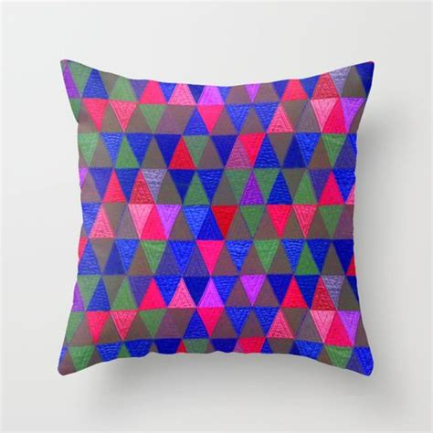 Creative Patchwork - confection creative patchwork 1 on society 6 pillows