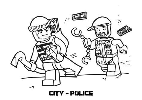 coloring page lego police lego police coloring pictures murderthestout
