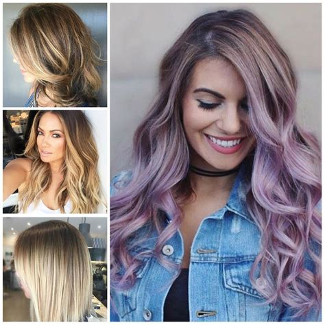 summer hairstyles colours new hair color trends for summer 2018 life style by