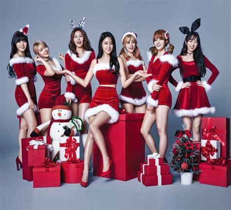 imagenes de navidad kpop 58 mejores im 225 genes de aoa en pinterest 193 ngeles kim