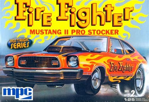 Interior Paints For Home 1974 1976 Ford Mustang Ii Pro Stock Firefighter 1 25 Fs