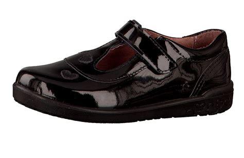 ricosta shoes ricosta liza black patent t bar school shoes
