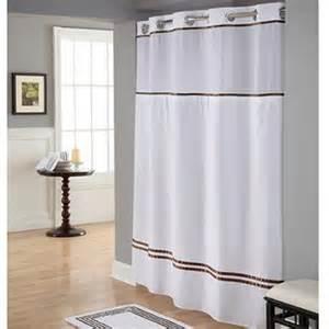 Hookless Shower Curtain Walmart » Home Design 2017