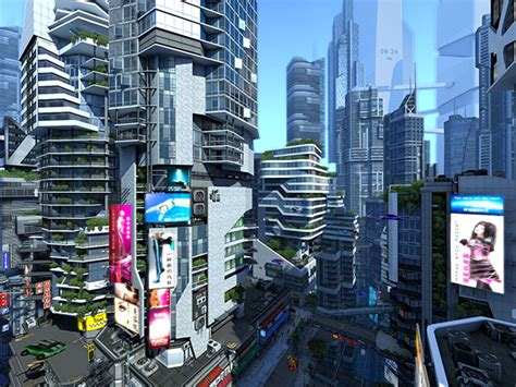Clock Buy by Adventure 3d Screensavers Futuristic City The City Of