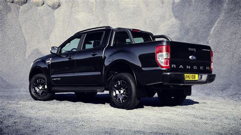 ford in black ford ranger black edition to debut at frankfurt