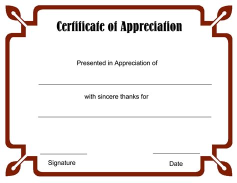 Printable Certificate Template by Blank Certificate Templates To Print Activity Shelter