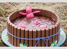 Gâteau bain de boue de cochons (ganache chocolat au lait ... Gateau De