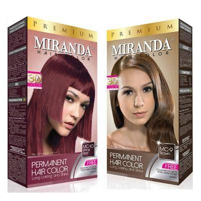 Vitamin Rambut Miranda inilah pilihan pewarna rambut di bawah rp100 ribu bagian 1 beautynesia