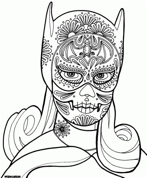 coloring pages for dia de los muertos dia de los muertos coloring pages coloring home