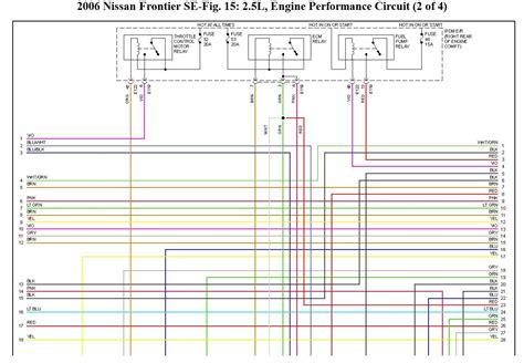 nissan frontier wiring diagram 2006 wiring diagram 2018