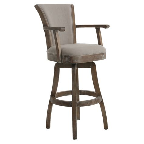 bar stools with back and arms that swivel furniture black rattan bar stool with arm and wicker back
