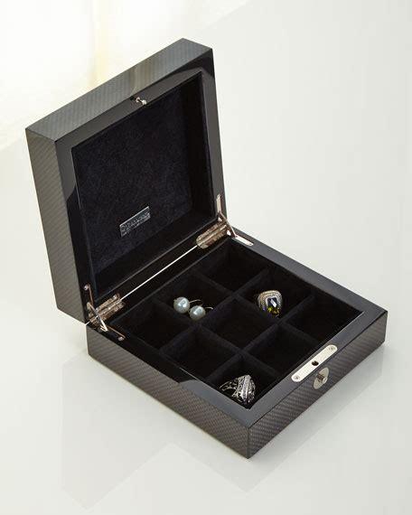 ercolano roger carbon fiber jewelry box
