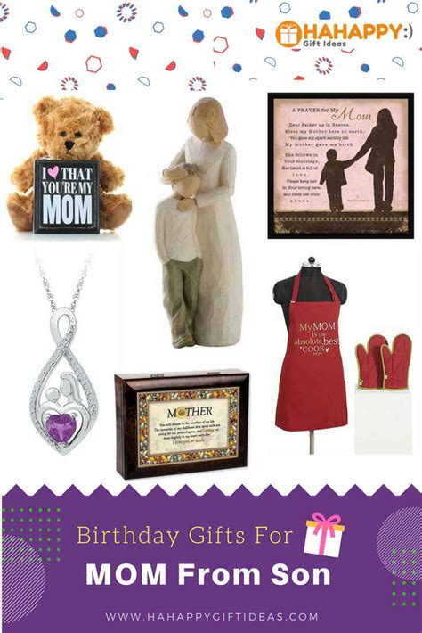 gift ideas for mom birthday unique thoughtful birthday gifts for mom from son hahappy