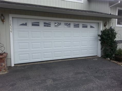 Door Garage Overhead Door Sacramento Auburn Door After Picture Panel Style With Williamsburg Window Inserts Yelp