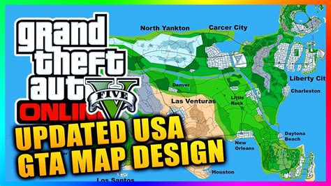 gta usa map gta 6 map of america my