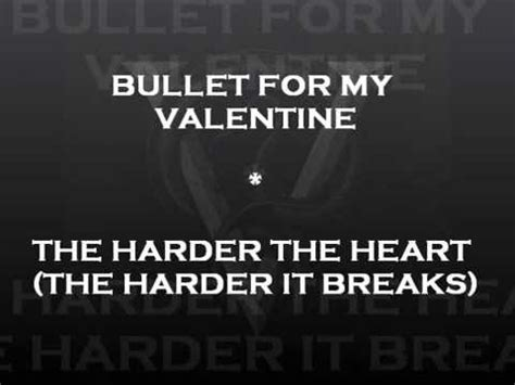 bullet for my lyrics venom bullet for my the harder the the harder it