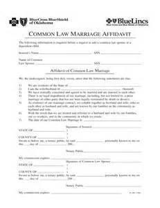 common law marriage affidavit oklahoma free download