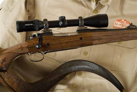 Handmade Rifle - the kilimanjaro custom bolt rifle
