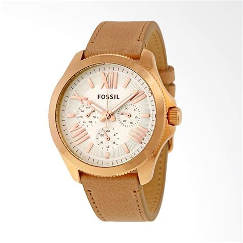 Jam Tangan Wanita Analog Fossil Angka Pink jual fossil am4532 jam tangan wanita brown