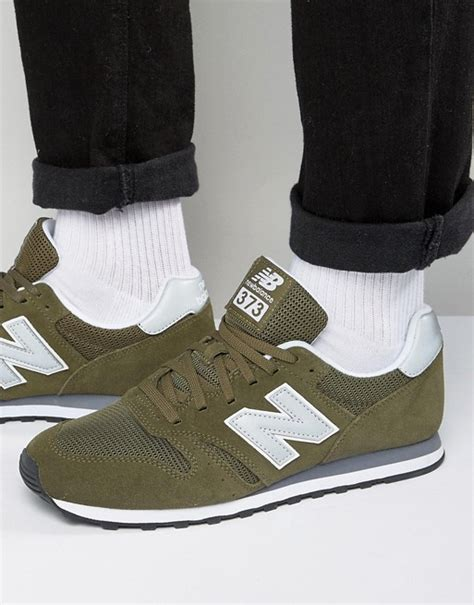 new balance new balance modern classic 373 trainers in green ml373olv