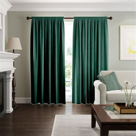 Forest Green Curtains Designs Best 25 Green Curtains Ideas On Emerald Green