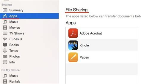 Where Is The File Section Of Itunes by How To Airdrop Photos Other Files From Iphone To Mac Or