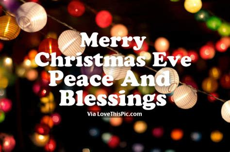 merry christmas eve peace  blessings pictures   images  facebook tumblr