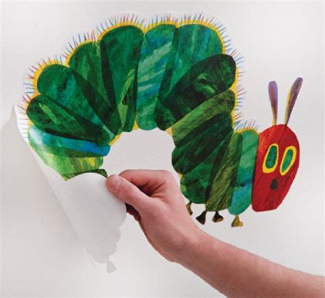the hungry caterpillar wall stickers the hungry caterpillar nursery and playroom wall sticker d 233 cor k