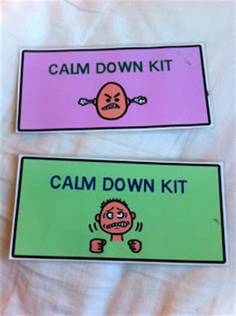 colors that calm you down calm down kit the autism adventures of room 83