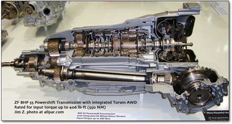 zf  speed automatic transmission  chrysler cars
