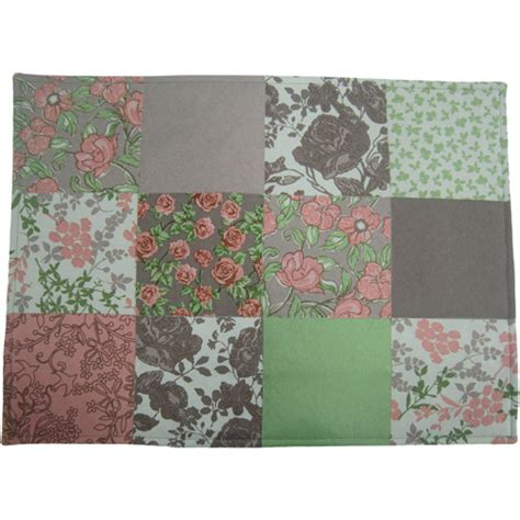 Patchwork Placemats - mainstays patchwork quilted placemats set of 4 walmart