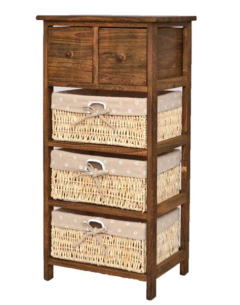 braune kommode braune shabby kommode k 252 chen bad regal hochregal schrank