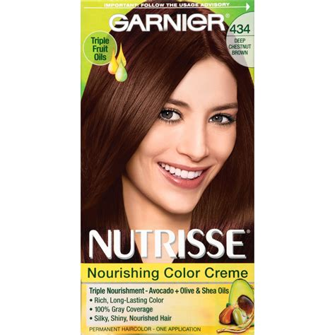 are deep chestnut brown and dark chocolate a similar hair color garnier nutrisse nourishing color creme 434 deep chestnut