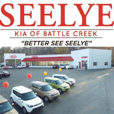 Seelye Wright Kia Of Seelye Kia Of Battle Creek In Battle Creek Mi 49037