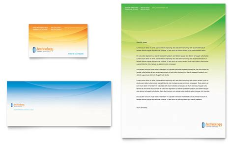 business card services list template computer it services business card letterhead template