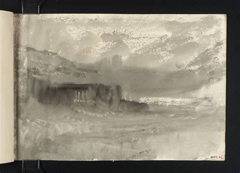 turners sketchbooks joseph mallord william turner folkestone pier in stormy