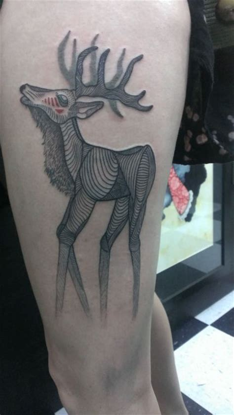 50 awesome thigh tattoos