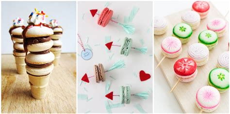 Cute Ways to Serve Macarons   Macaron Dessert Ideas