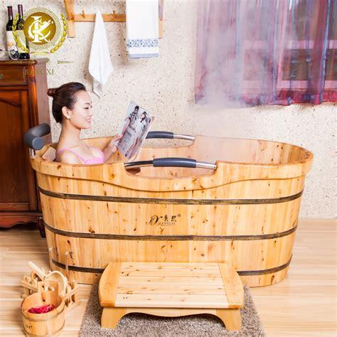 bathroom bucket cedar bath bucket bathtub bath barrel bath tub portable jpg