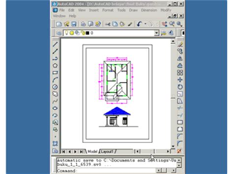 gambar layout adalah mencetak gambar autocad pada layout water resources