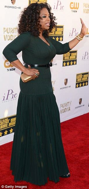 Oprah Winfrey shrugs off disappointing Oscars snub with showstopping appearance at the Critics