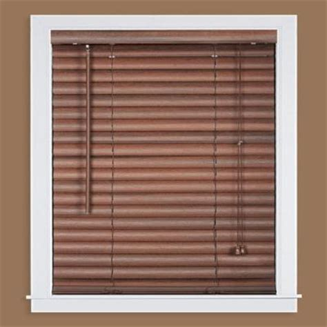 mahogany 2 in light filtering vinyl mini blind 33