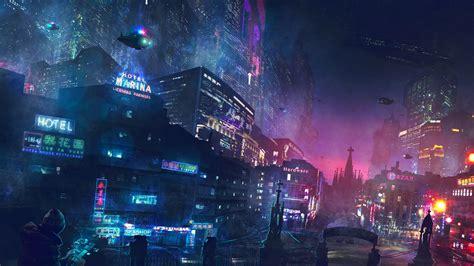 girl underground themes download cyberpunk artwork 320x240 resolution full hd