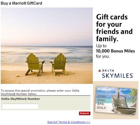 Marriott Gift Card Deals - earn delta skymiles with marriott gift card purchases deals we like