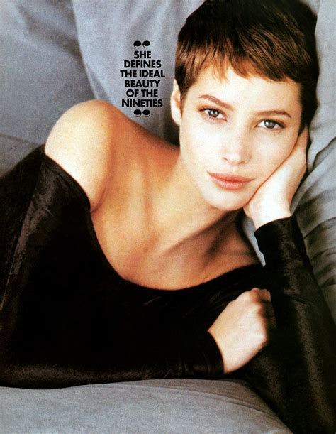kristy turligton short hair christy turlington photos short hair hairstyle gallery