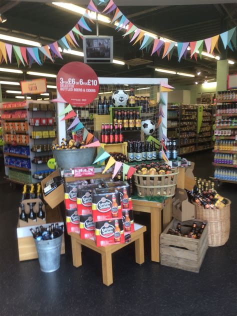 Grocery Store Display Racks by World Cup Marks And Spencer Themed Display