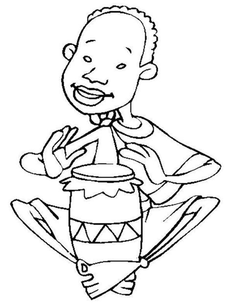 african instruments coloring page african drums coloring pages