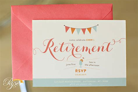 Free Party Invitation Free Premium Templates Retirement Invitation Template Free