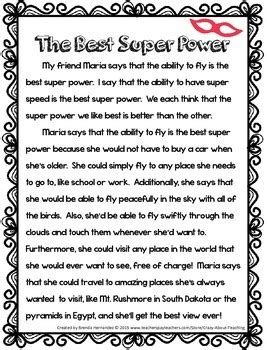 opinion writing   super powers  crazy